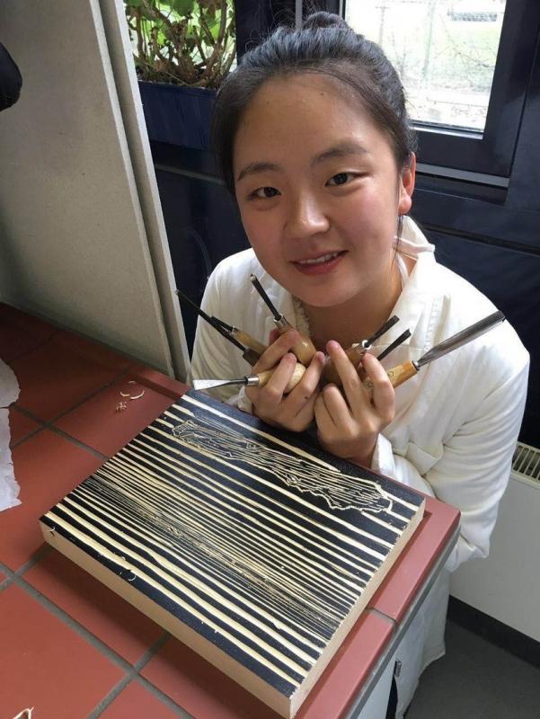 Getötete Studentin Yangjie Li.